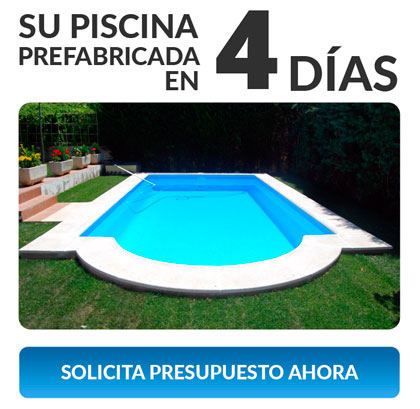 Piscinas prefabricadas en poliester piscinas de fibras for Piscinas de poliester precios