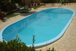 piscina pequeña poliester