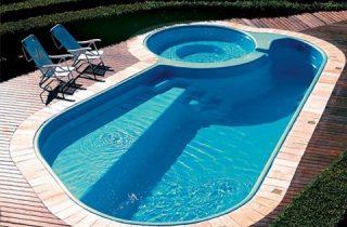 piscinas de fibras