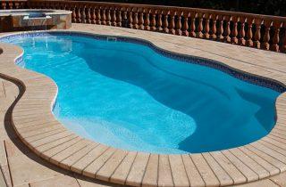 piscinas pequeña de poliester