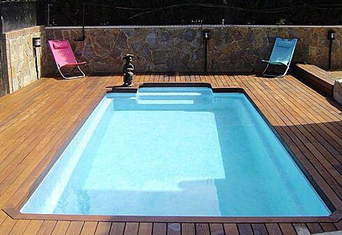 Piscinas prefabricadas en poliester tama os de piscinas piscinas prefabricadas en poliester - Piscinas prefabricadas precios ...