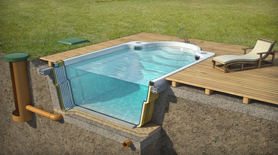 Piscinas prefabricadas en poliester piscinas baratas for Construir una piscina barata