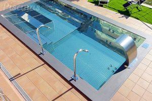 piscina instalada