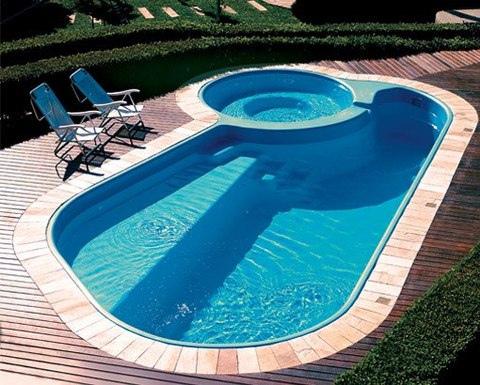 Piscinas prefabricadas en poliester piscinas de fibras for Piscinas de acero baratas